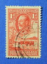 1932 BECHUANALAND PROTECTORATE 1d SCOTT# 106 S.G.# 100 USED              CS20643