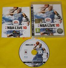 NBA LIVE 10 Ps3 Versione Ufficiale Italiana 1ª Edizione ••••• COMPLETO