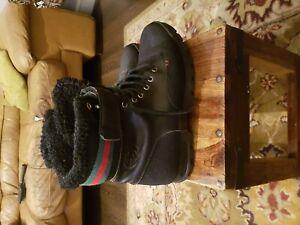 Gucci mens boots