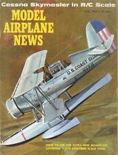 MODEL AIRPLANE NEWS 1966 LOCKHEED VEGA, CESSNA SKYMASTER, THE TRAVELER