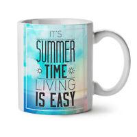 Summer Time Live NEW White Tea Coffee Mug 11 oz | Wellcoda