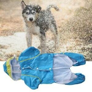 Pet Dog Rain Coat Hooded Waterproof Jacket Raincoat For Small Dogs High Quality