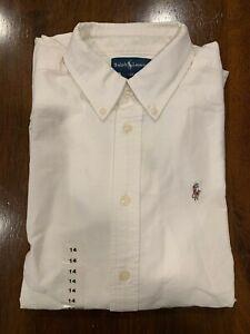 Ralph Lauren Classic Dress Shirt (Size 14)