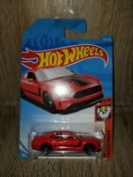 Hot Wheels 2018 Ford Mustang GT Red Long Card Muscle Mania 9/10