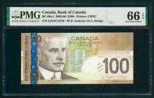 Canada 🇨🇦 2003-06, $100 dollars BC-66a-i, PMG 66 EPQ GEM UNC
