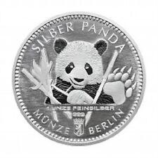 Moneda Berlín 2017 Medalla Plata 999/1000 1 Onza Panda - 1 Oz silver
