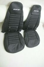 (1970)_(1978) Datsun240z/260z/280z Leather Replacement SPORT Seats Cover Black