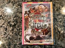 Terror Circus New Sealed DVD! 1974 Slasher! (See) The Hills Have Eyes & The Evil