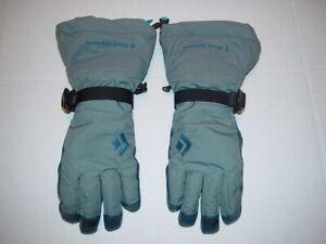Black Diamond Ankhiale Goretex Gloves Winter Ski Snow Leather Palm Women's S