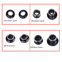KOOZER Bike Hub QR Quick Release Thru Axle Adapter Converter End Caps 9-10/15-12