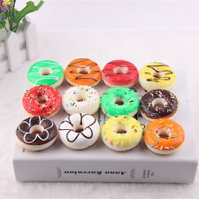 1pc Random 5cm Donuts Soft Squishy Slow Rising Toys Phone Charms Key Rings Decor