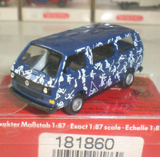 HERPA 181860 VOITURE VOLKSWAGEN TRANSPORTER SPORTS BUS ECHELLE 1:87 HO NEW OVP
