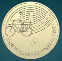 THE GREAT AUSSIE COIN HUNT | 2019 | UNC ONE DOLLAR COIN | 'A' FOR AUSPOST