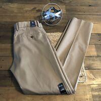 NWT JCrew Classic Pants in Cotton Twill 29W 32L Khaki 17249