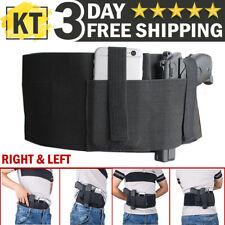 Tactical Belly Band Holster Concealed Carry Pistol Hidden Gun Belt Waist Shirt