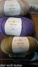Rowan Fine Lace, verschiedene Farben zur Auswahl