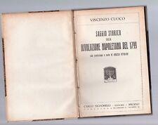saggio storico sulla rivoluzione napoletana del 1799 - vincenzo cuoco