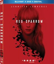 RED SPARROW(BLU-RAY+DVD+DIGITAL HD)W/SLIPCOVER NEW