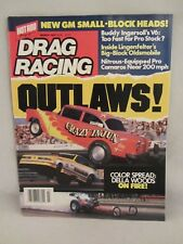 Hot Rod Magazine Drag Racing -  March 1987 ,  New GM Small-Block Heads   (218)