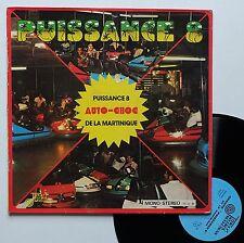 """Vinyle 33T Puissance 8  """"Auto choc de la Martinique"""""""