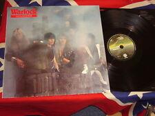 WARLOCK - hellbound   LP 1985  DORO  VERTIGO 824660-1