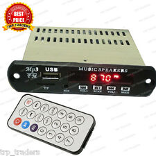 Mini Stereo Audio Amplifier MP3 Player Module,Card, USB, FM Radio, Aux IN Remote