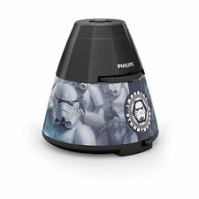 Veilleuse-projecteur Philips Star Wars LED 2 en 1 Noir