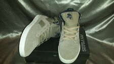 SUPRA BANDIT KHAKI SUEDE TWILL MEN'S SHOES SIZE 11.5 NEW IN BOX