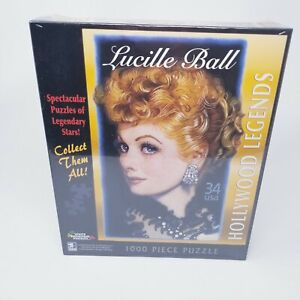 Hollywood Legends LUCILLE BALL 1000 Piece Jigsaw Puzzle White Mountain NEWSEALED