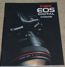 Canon HUGE MEGA BROCHURE: EOS-1DS MKIII, EOS-1D MKIII, EOS 5D, EOS 40D *80 Pages