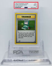 POKEMON BASE 1ST EDITION SHADOWLESS COMPUTER SEARCH 71/102 PSA 9 MINT #28223027