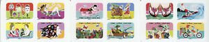 France Cartoons Stamps 2020 MNH Summer Seasons Butterflies 12v S/A Booklet