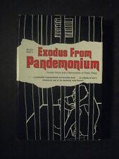 EXODUS FROM PANDEMONIUM signed Burton Blatt mental health psychiatry reform 1970