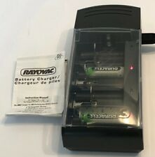 Rayovac PS3 3-in-1 Universal Battery Charging System NiMH NiCD Alkaline Tested
