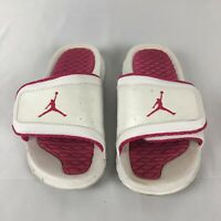 Nike Jordan Hydro 3 Youth Girl/'s Slides Black//Vivid Pink 630757 009