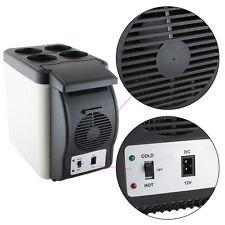 Usa Black 6L Car Refrigerator Fridge Cooler Warmer Freezer 12V Truck Camping