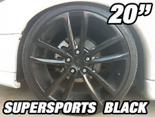 4x 20inch SUPERSPORT BLACK Alloy Wheel HOLDEN COMMODORE VL VK VT VY VZ VE VF SS