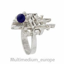 Modernist Silber Ring Hermann Siersbol Lapis lazuli Denmark silver 🌺🌺🌺🌺🌺