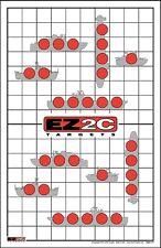 250 EZ2C Targets Boat Ship Rifle Airsoft Pistol Gun Range Targets (250 pack)