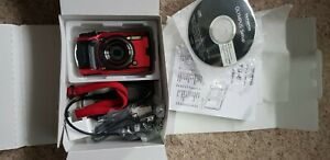 Olympus Tough TG-6 Tough Camera - Opened never used - Red