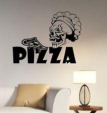 Pizza Logo Wall Sticker Vinyl Decal Window Sign Art Business Pizzeria Decor piz1
