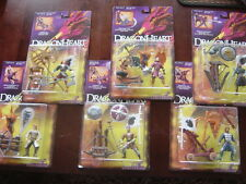 DRAGONHEART MOVIE 1995 ACTION FIGURES - LOT OF 6 --NEW IN PKG