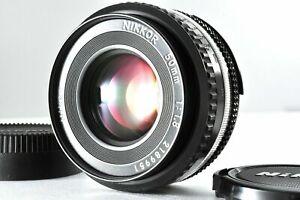 Nikon Ai-s AIS Nikkor 50mm f1.8 Pancake Prime MF Lens E071601
