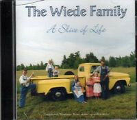 A Slice of Life ~ The Wiede Family ~ Traditional Folk, Hymns, Stories ~ CD ~ New
