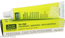 Thursday Plantation Australian Tea Tree TOOTHPASTE Fluoride & Sugar Free 110g
