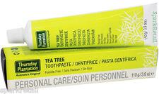 Thursday Plantation Australian Tea Tree TOOTHPASTE Fluoride & Sugar Free 110g