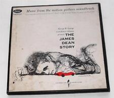 The James Dean Story 1957 Box Set of 4 45 rpms Capitol EMD 881  VG++  Ultra Rare