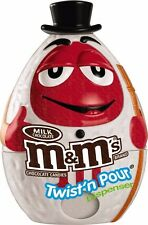 M&M'S Holiday Candy Twist N Pour Dispenser Snowman Toy