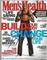 Dwight Howard Signed 2010 Men's Health Full Magazine Rockets Lakers Magic
