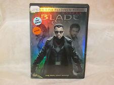 Blade: Trinity (DVD, 2005) Movie R Action Adventure Wesley Snipes, Jessica Biel